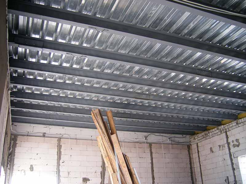 монолитный потолок