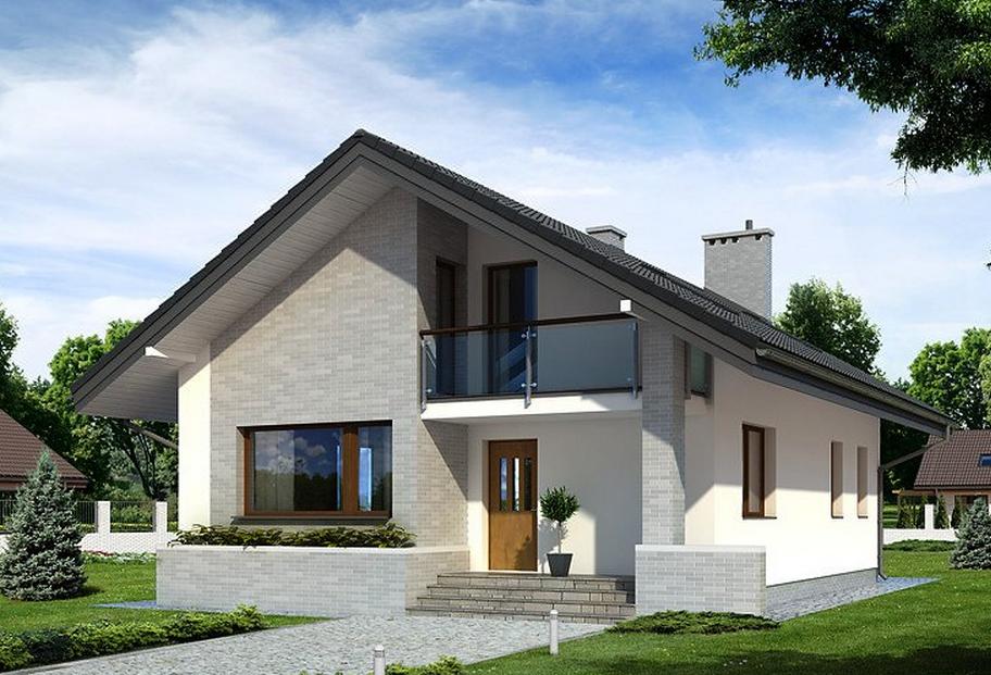 Дом в стиле шале - реальные фото лучших проектов